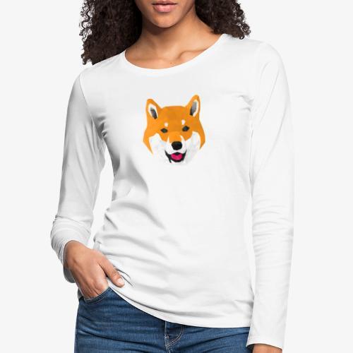 Shiba Dog - T-shirt manches longues Premium Femme