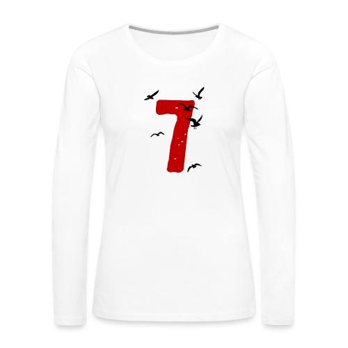 When the seagulls follow the trawler - Women's Premium Longsleeve Shirt