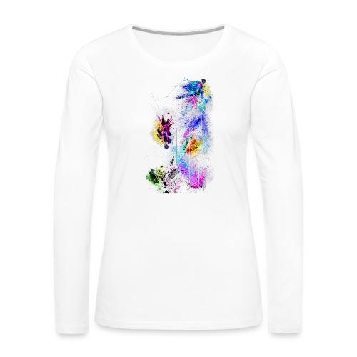 ModernArt - Frauen Premium Langarmshirt
