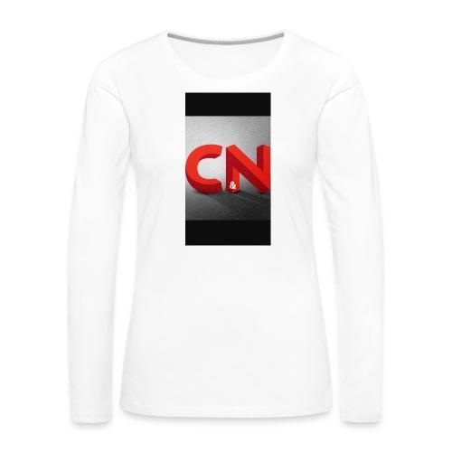 C&N freerun - T-shirt manches longues Premium Femme