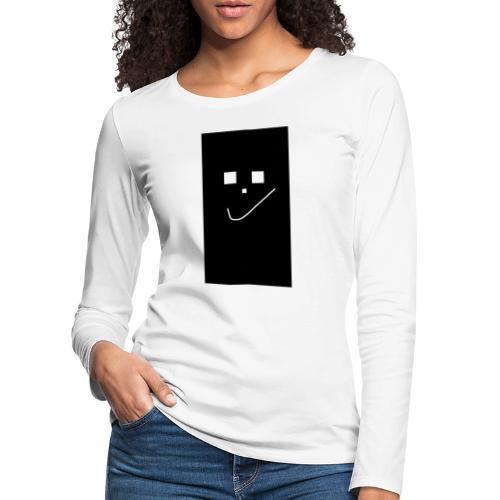 Smile :) - Frauen Premium Langarmshirt