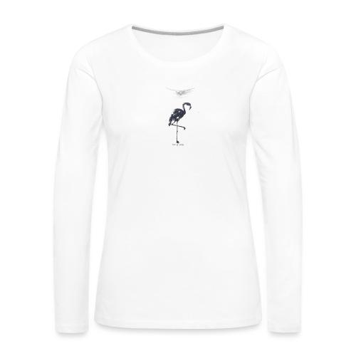 T-shirt imprimé - off white - T-shirt manches longues Premium Femme