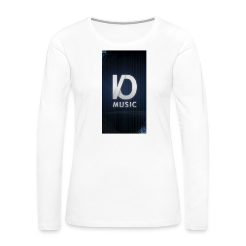iphone6plus iomusic jpg - Women's Premium Longsleeve Shirt