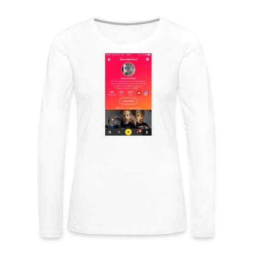 IMG 0223 - Långärmad premium-T-shirt dam
