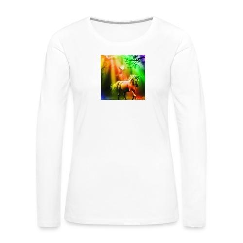 SASSY UNICORN - Women's Premium Longsleeve Shirt