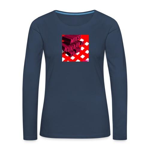 KukaaEiTajuu - Naisten premium pitkähihainen t-paita