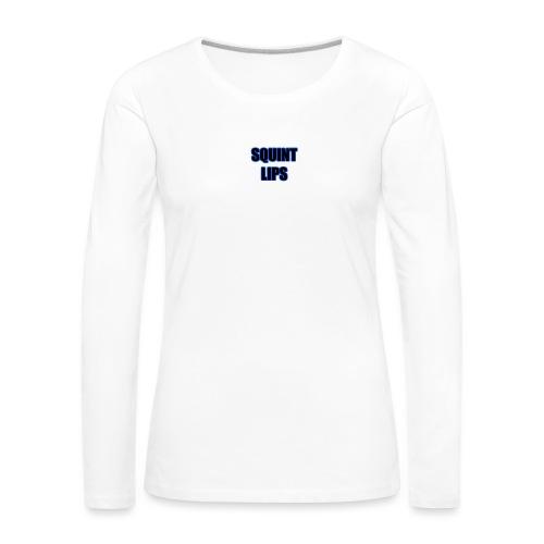 Squint Lips Merch - Women's Premium Longsleeve Shirt