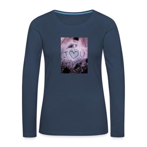 Ich liebe dich - Women's Premium Longsleeve Shirt