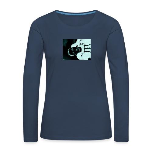 Mikkel sejerup Hansen cover - Dame premium T-shirt med lange ærmer