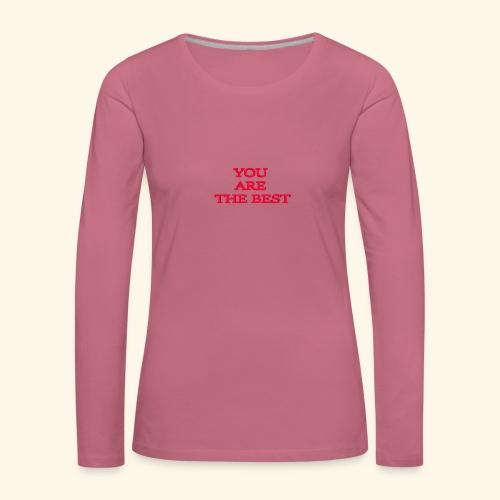 best 717611 960 720 - Dame premium T-shirt med lange ærmer