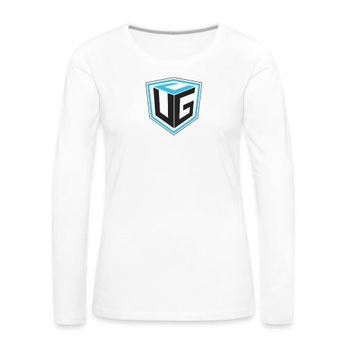 Ultimate Gaming Community Cube - Frauen Premium Langarmshirt