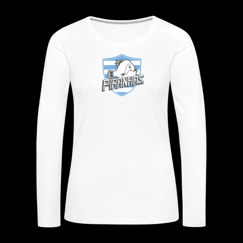 Logo Piranhas v5 - T-shirt manches longues Premium Femme