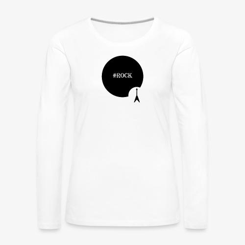 Rock - Vrouwen Premium shirt met lange mouwen