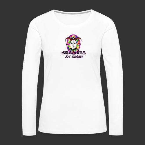 Arlequins Beauvais - T-shirt manches longues Premium Femme