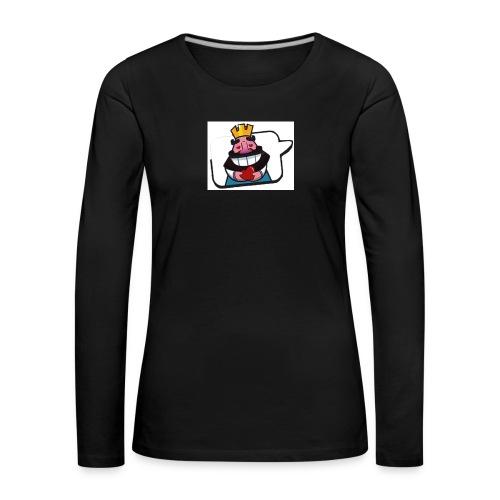Cartoon - Maglietta Premium a manica lunga da donna