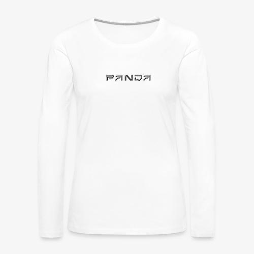 PANDA 1ST APPAREL - Women's Premium Longsleeve Shirt