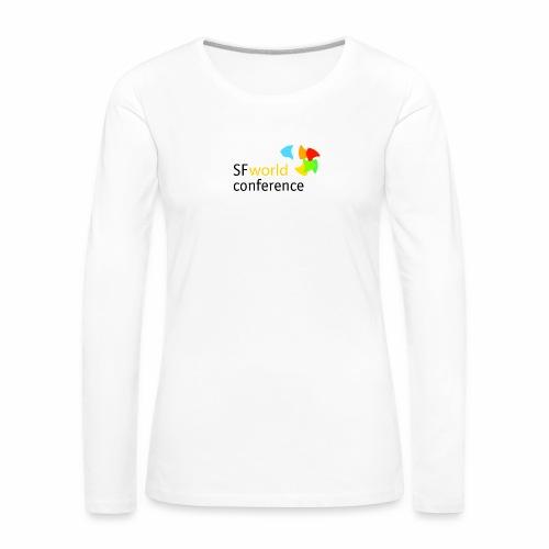 SFworldconference T-Shirts - Frauen Premium Langarmshirt