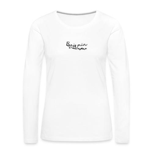 Benjamin O'Callaghan Vlogs - Women's Premium Longsleeve Shirt