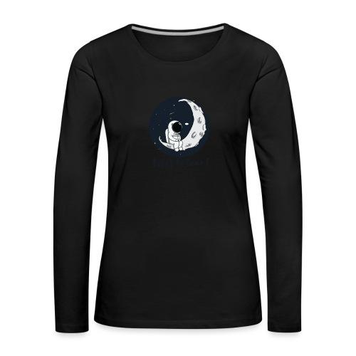 Visez la lune ! - T-shirt manches longues Premium Femme