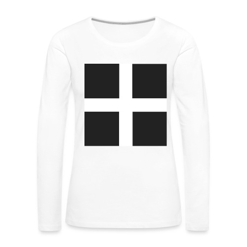 I m Cornish and Proud - Women's Premium Longsleeve Shirt