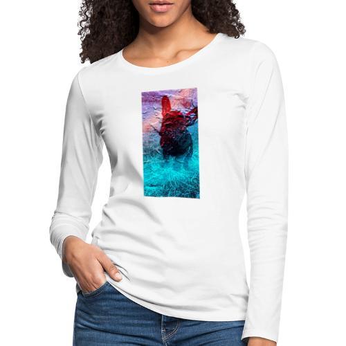 Sweet Frenchie - Frauen Premium Langarmshirt