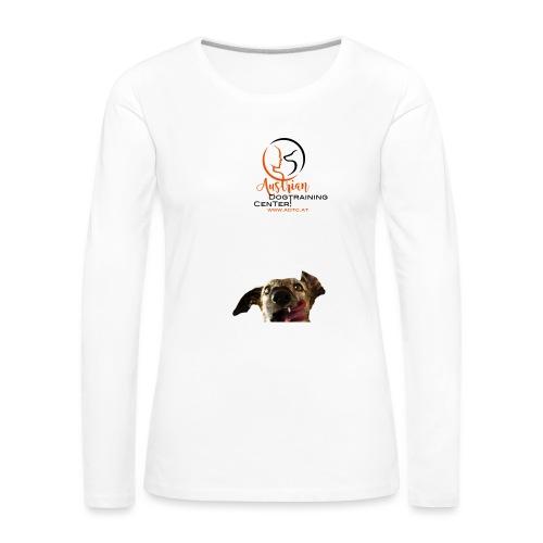 Kopf ADTC - Frauen Premium Langarmshirt
