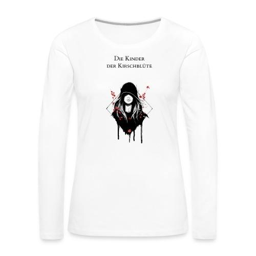 Cover Schwarz Rot Trans - Frauen Premium Langarmshirt