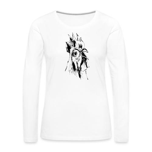 Mohawk - Frauen Premium Langarmshirt