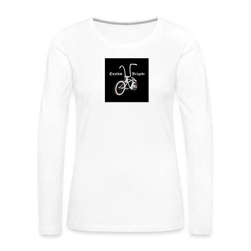 badge001 - T-shirt manches longues Premium Femme