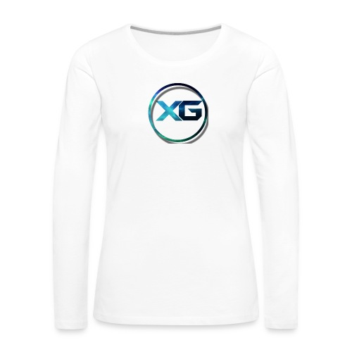 XG T-shirt - Vrouwen Premium shirt met lange mouwen