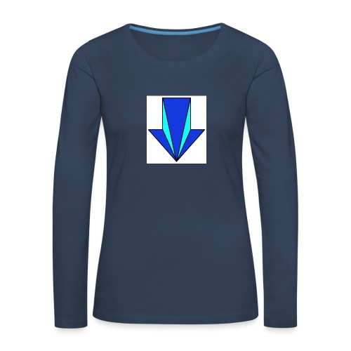 flecha - Camiseta de manga larga premium mujer