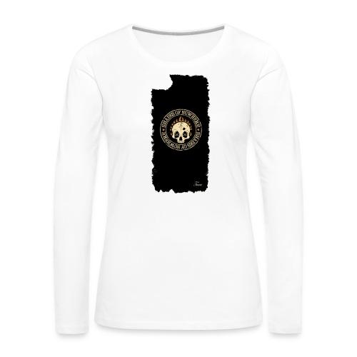 iphonekuorettume - Naisten premium pitkähihainen t-paita