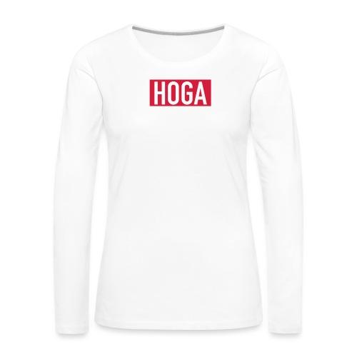 HOGAREDBOX - Premium langermet T-skjorte for kvinner