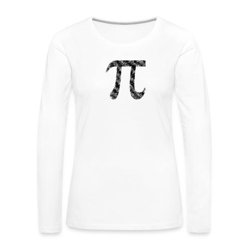Pi Used - Frauen Premium Langarmshirt