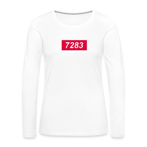 7283-Red - Women's Premium Longsleeve Shirt