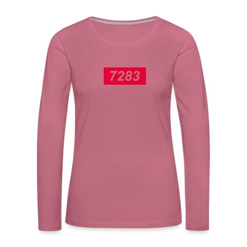 7283-Red - Women's Premium Longsleeve Shirt