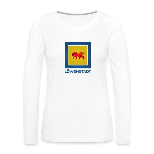 Löwenstadt Fan Design 11 - Frauen Premium Langarmshirt