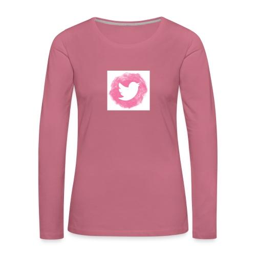 pink twitt - Women's Premium Longsleeve Shirt