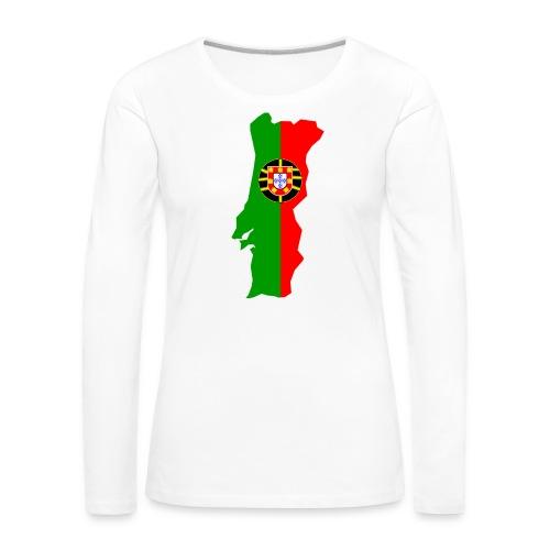 Portugal - Vrouwen Premium shirt met lange mouwen