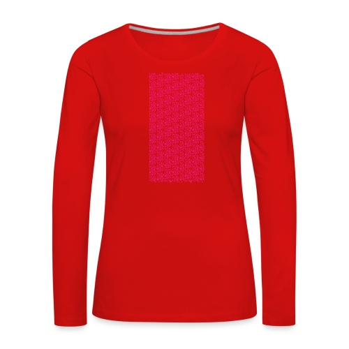 Fluo Sghiribizzy - Maglietta Premium a manica lunga da donna