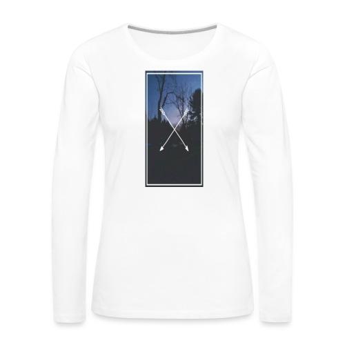 Bosque Flexhas - Camiseta de manga larga premium mujer