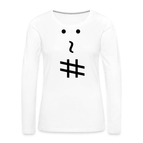 andrew.org logo - Maglietta Premium a manica lunga da donna