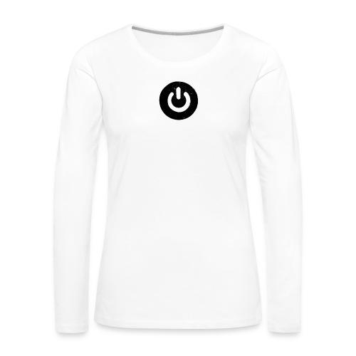 Power On - Frauen Premium Langarmshirt