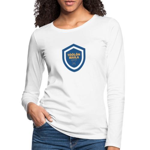 Töölön Maila - Naisten premium pitkähihainen t-paita