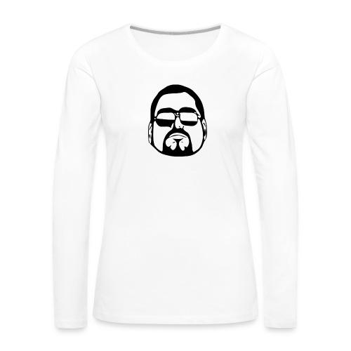 cool guy - Vrouwen Premium shirt met lange mouwen