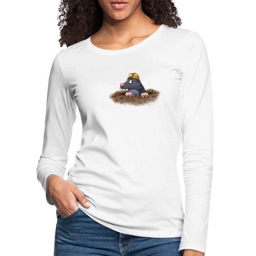 Maulwurf - Frauen Premium Langarmshirt
