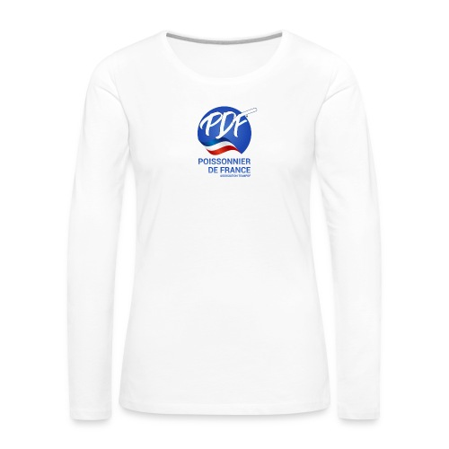 logo - T-shirt manches longues Premium Femme