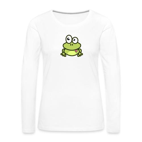 Frog Tshirt - Women's Premium Longsleeve Shirt