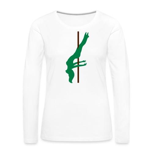 Pole Dance Pole Dancing - Maglietta Premium a manica lunga da donna