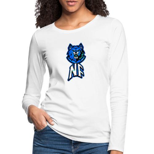 Noah Fortes logo - Vrouwen Premium shirt met lange mouwen